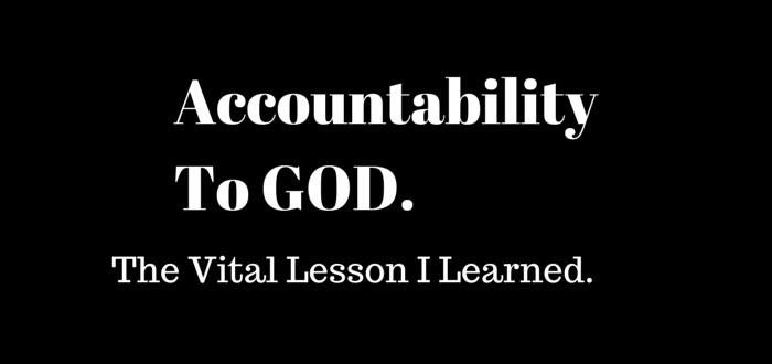 accountability to God. www.walkbyfaithministry.com