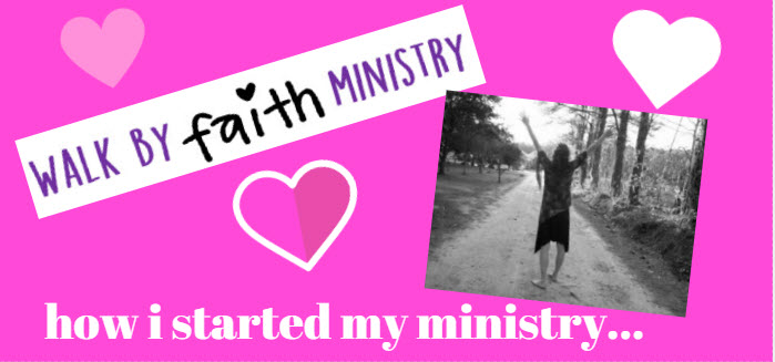 how i started my ministry