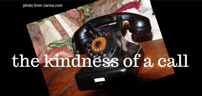 kindness of a call