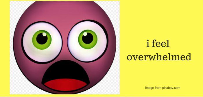 i feel overwhelmed