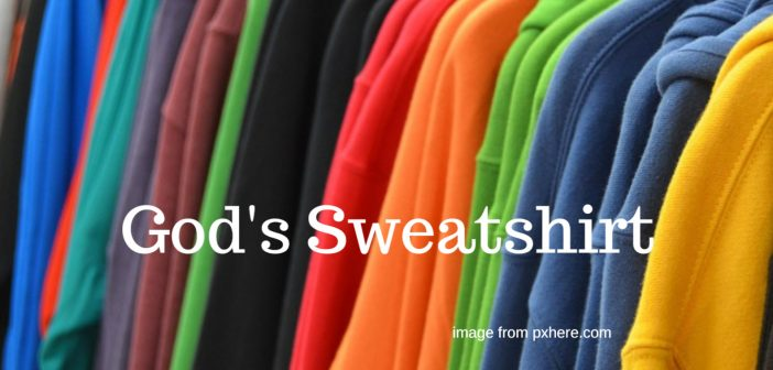 god's sweatshirt