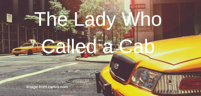 lady who called a cab