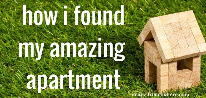 how i found my amazing apartment