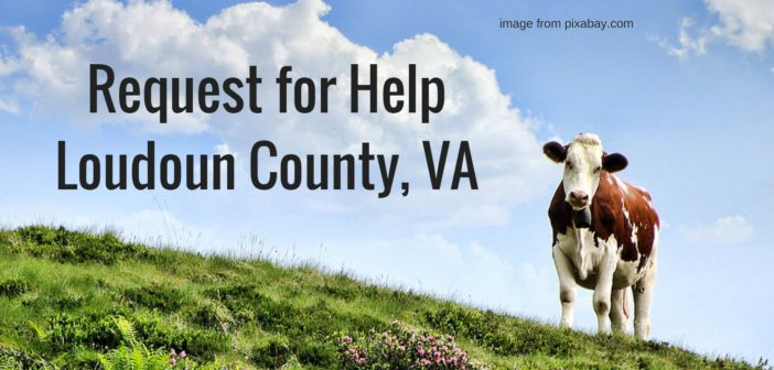 request for help loudoun county