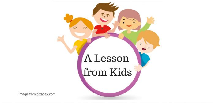 lesson from kids