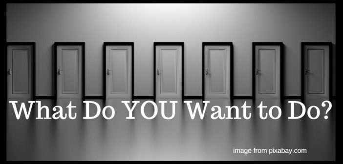 what do you want to do