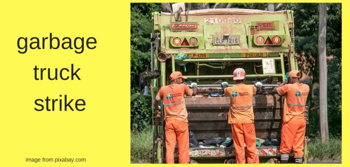 garbage truck strike