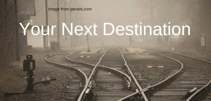 your next destination