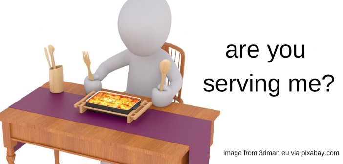 are you serving me