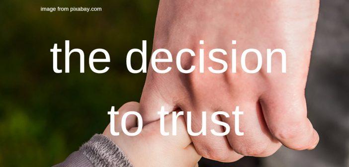 decision to trust