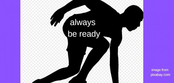 always be ready