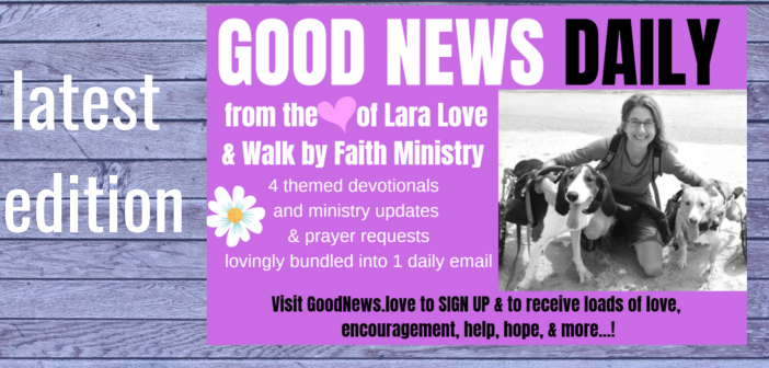 latest GOOD NEWS DAILY – June 5