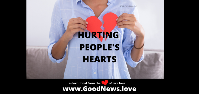 HURTING PEOPLE'S HEARTS WEBSITE