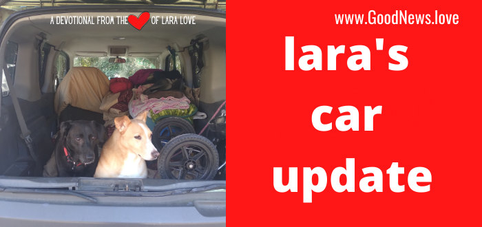lara's car update